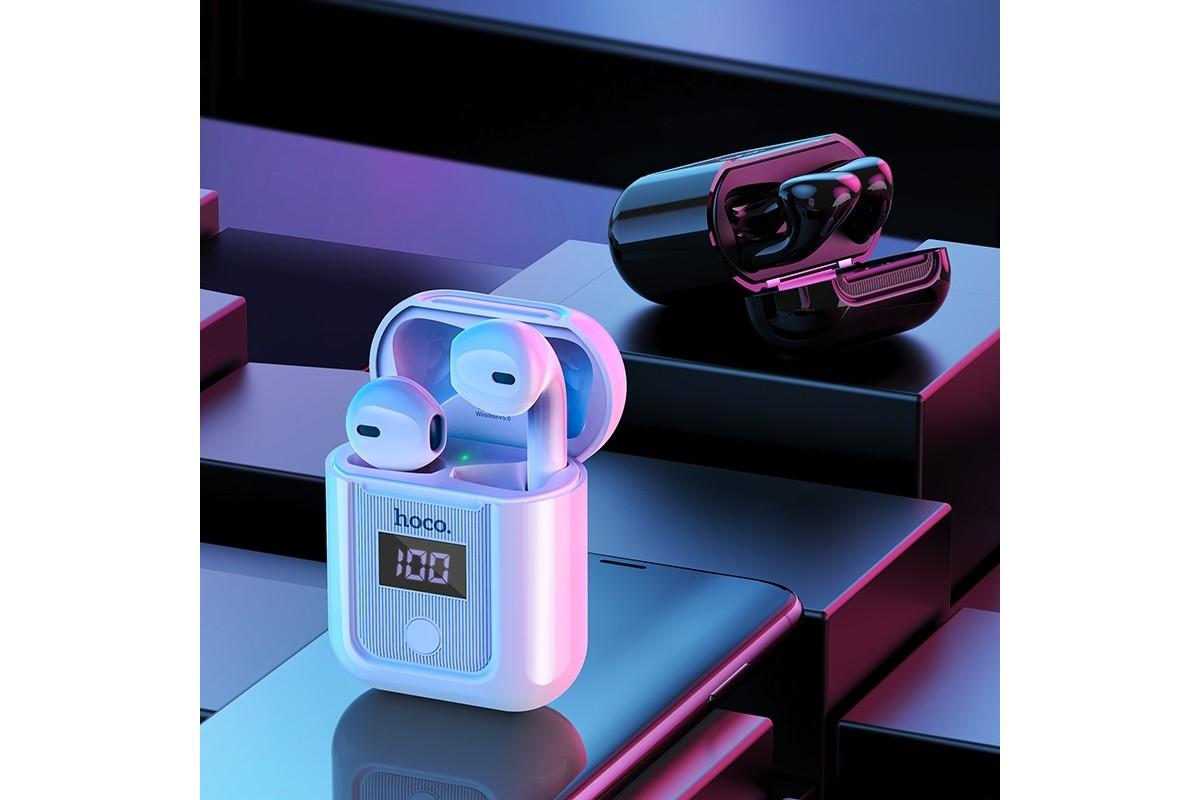 Bluetooth-гарнитура S11 Melody wireless headset  HOCO белая