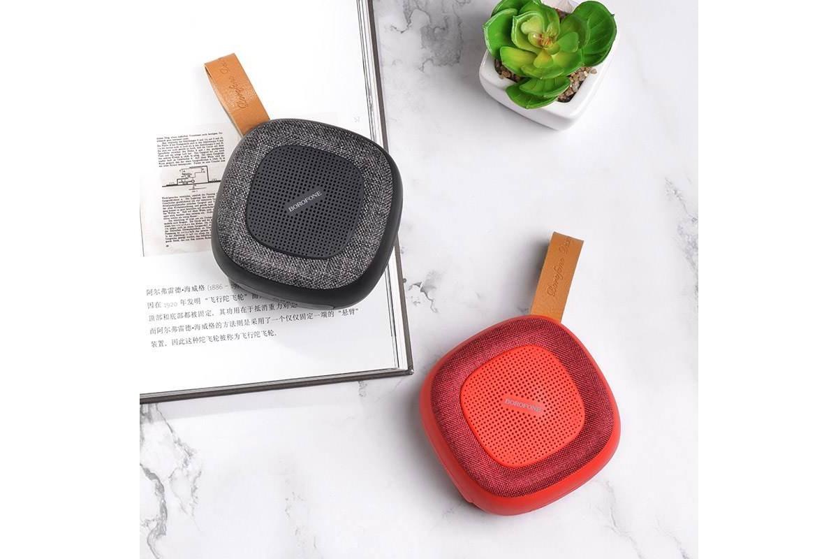 Портативная беспроводная акустика BOROFONE BP5  цвет черный