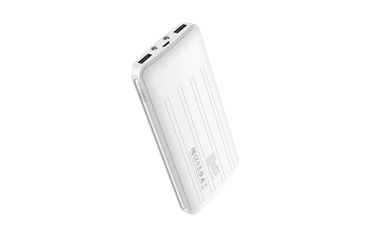 Универсальный дополнительный аккумулятор BOROFONE BT21A Universal energy mobile power bank 20000 mAh  белый