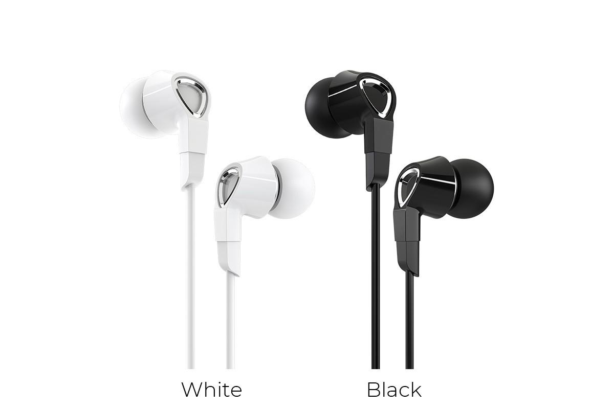 Гарнитура BOROFONE BM47 Dreamt universal earphones 3.5мм цвет черная
