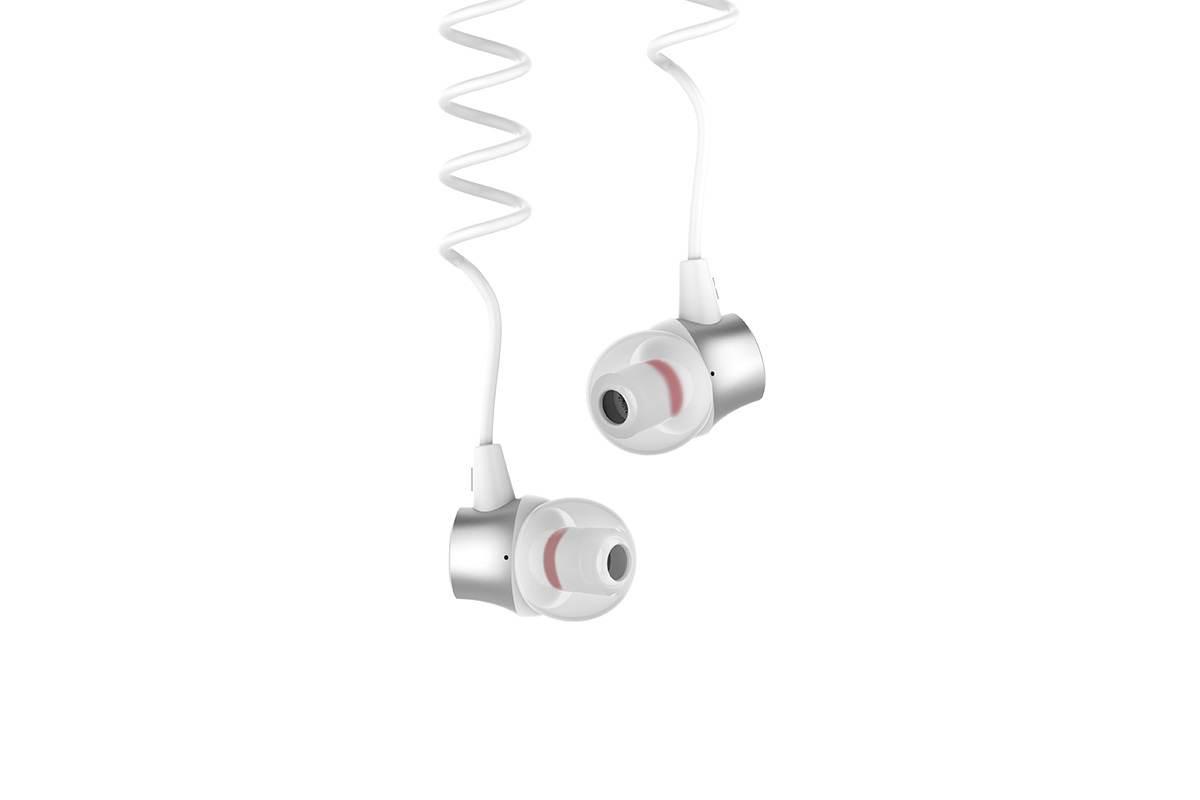 Гарнитура HOCO M51 Proper sound universal l 3.5мм белая