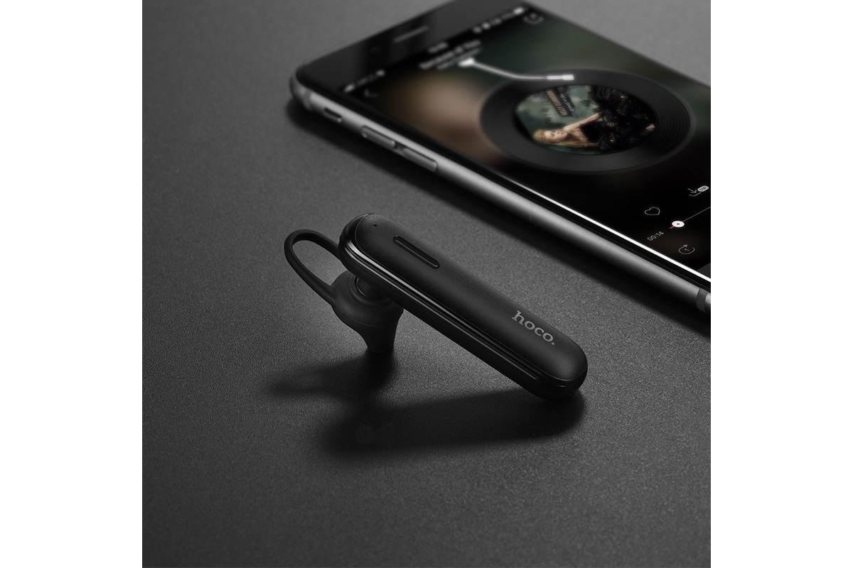 Bluetooth-гарнитура E36 Free sound business HOCO черная