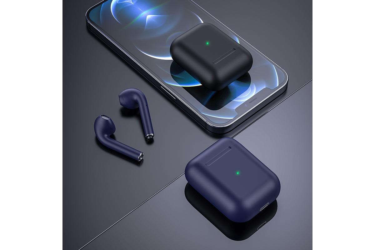 Беспроводные наушники BOROFONE BE42 Feliz TWS wireless earphonesl 3.5мм цвет cиняя
