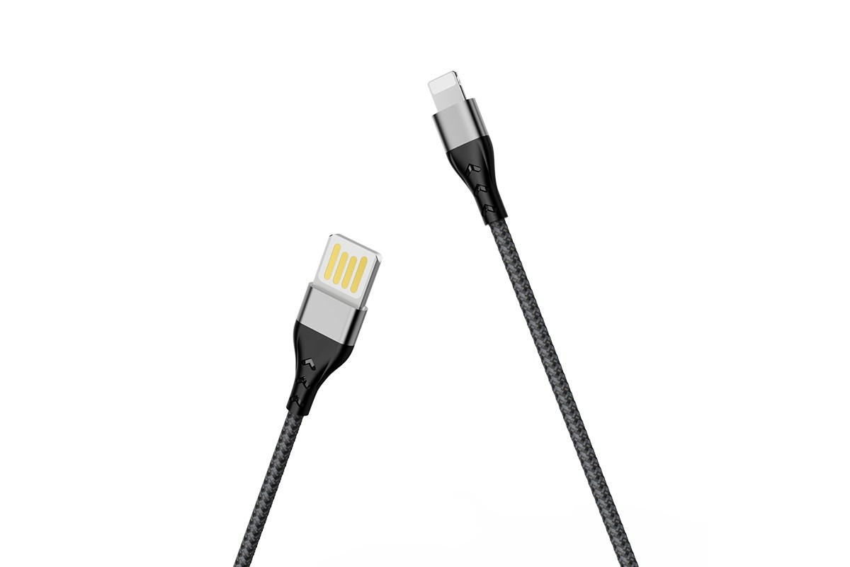Кабель для iPhone BOROFONE BU11 Tasteful charging data cable for Lightning 1м черный