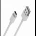 Кабель USB BOROFONE BX3 ProSync Type-C cable (белый) 1 метр