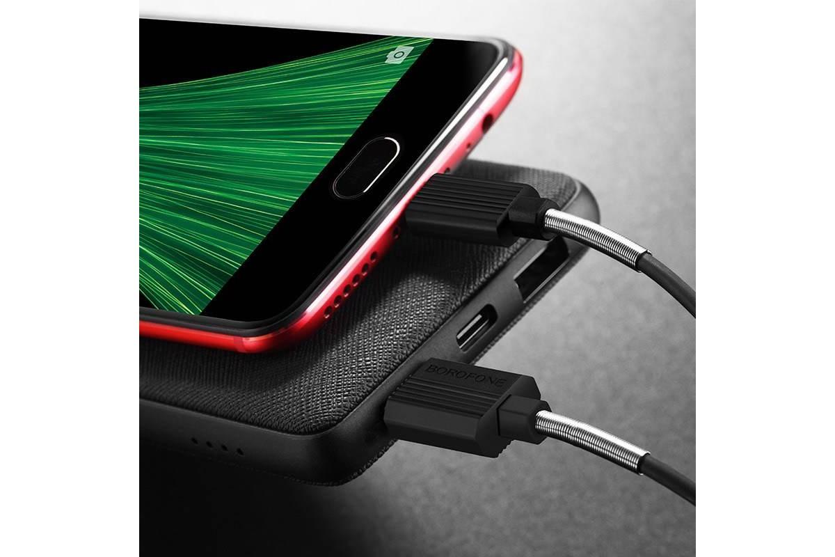 Кабель USB micro USB BOROFONE BX11 UJet (черный) 1 метр
