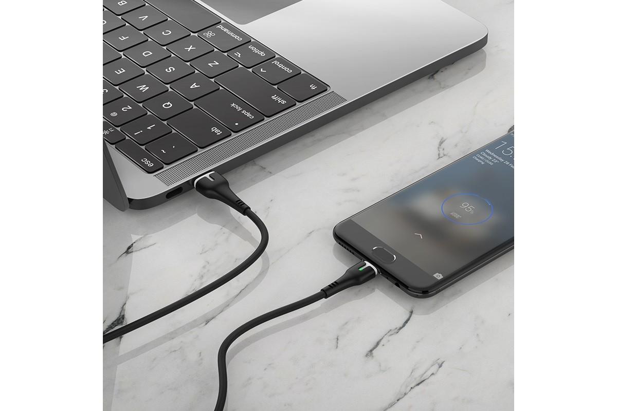 Кабель USB micro USB HOCO X45 Surplus charging data cable  1 метр черный