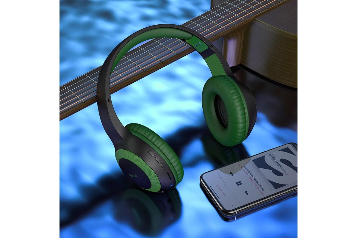 Беспроводные внешние наушники HOCO W29 Outstanding wireless headphones камуфляж