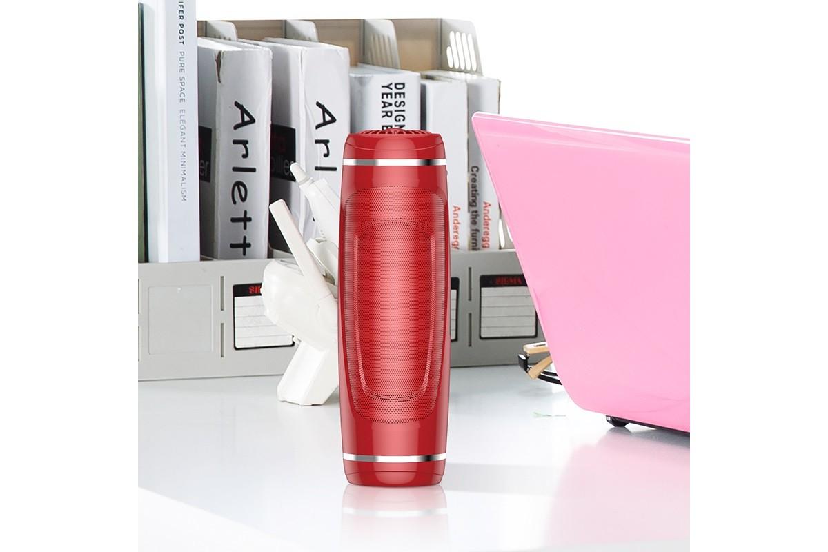 Портативная беспроводная акустика BOROFONE BR7 Empyreal sports wireless speaker  цвет красный