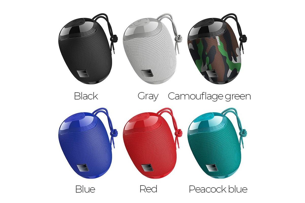 Портативная беспроводная акустика BOROFONE BR6 Miraculous sports wireless speaker  цвет красный