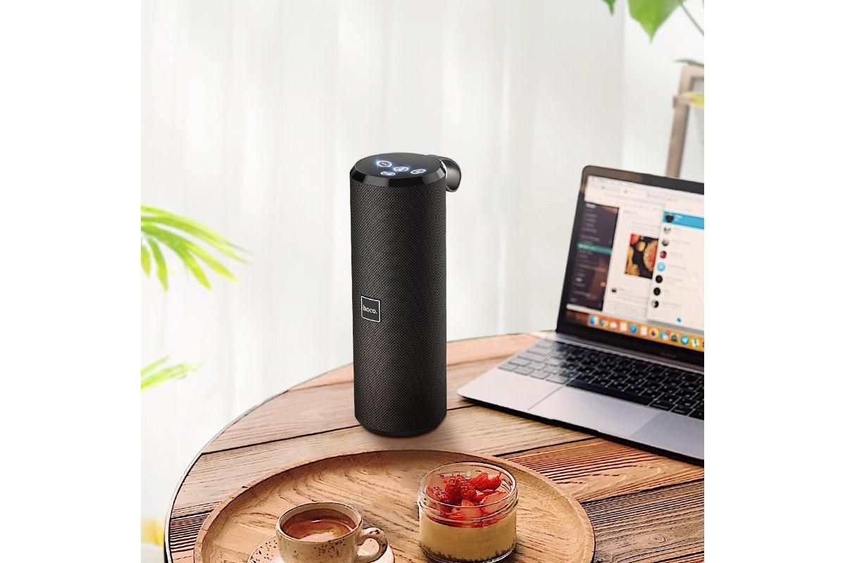 Портативная беспроводная акустика HOCO BS33 Voise sports sound sports wireless speaker цвет черный