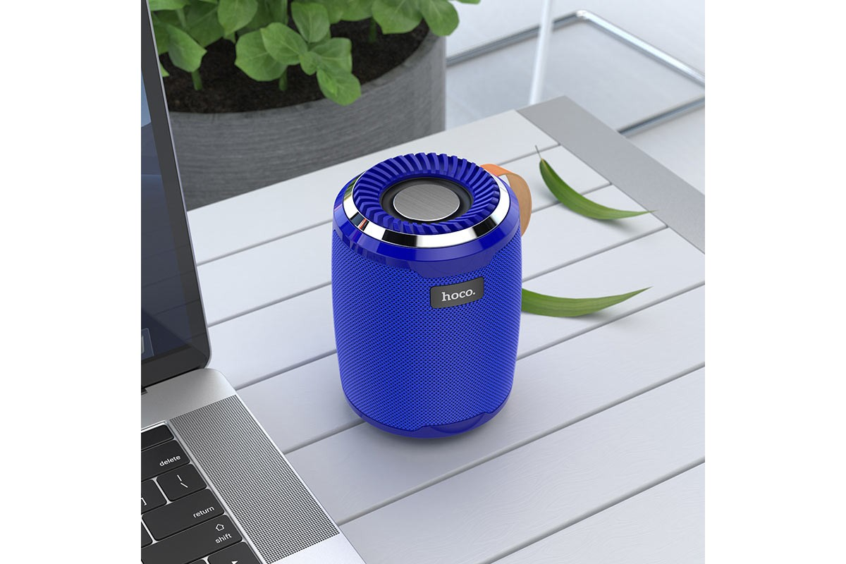Портативная беспроводная акустика HOCO BS39 Cool sports sound sports wireless speaker цвет синий