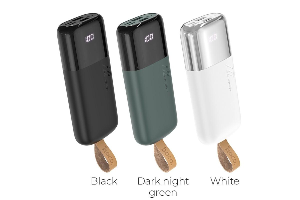 Универсальный дополнительный аккумулятор HOCO  J57 Excellent NRG mobile power bank(10000mAh) белый