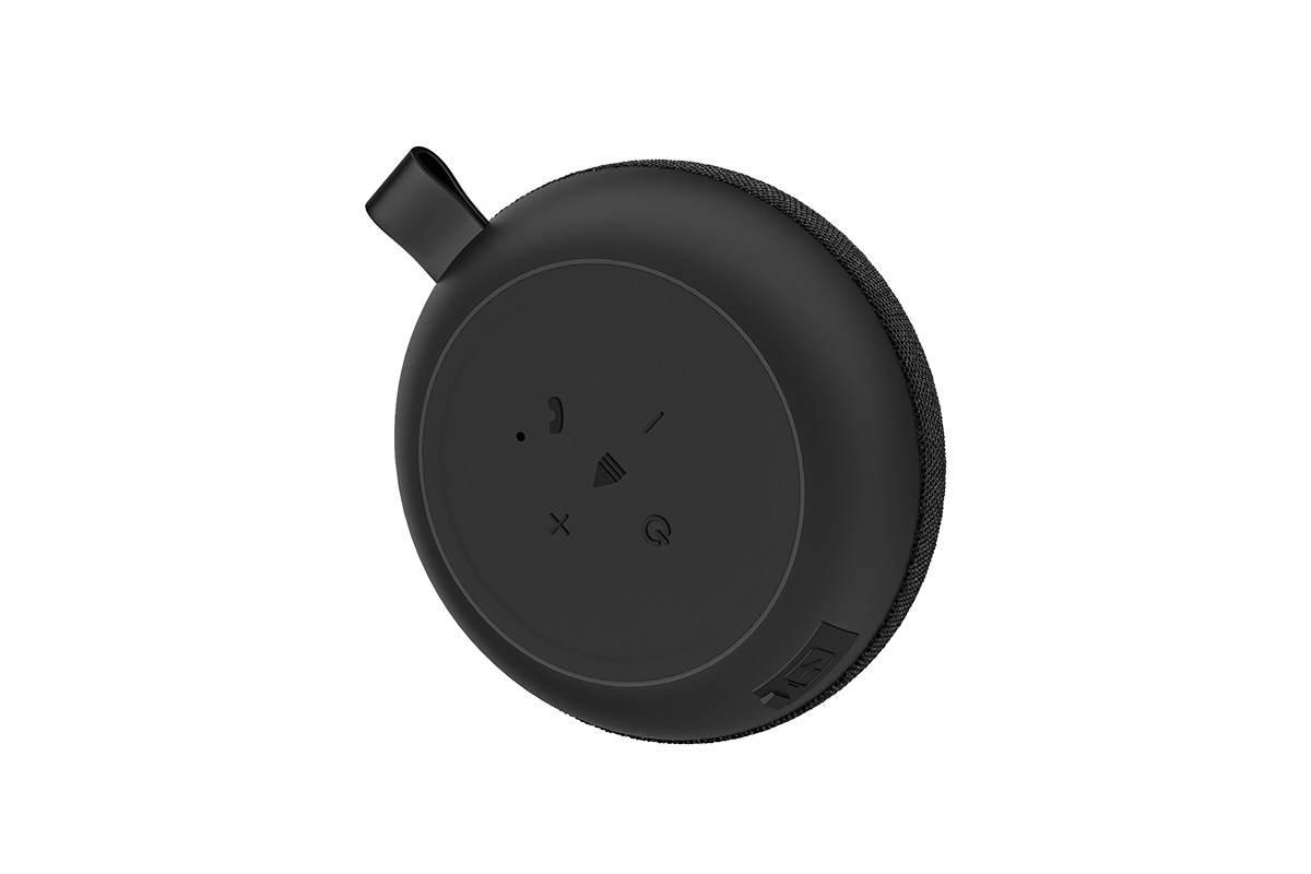 Портативная беспроводная акустика BOROFONE BP3  цвет серый