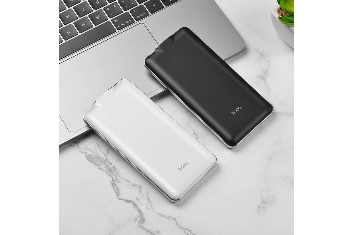 Универсальный дополнительный аккумулятор HOCO  J39 Quick energy PD+QC3.0 mobile power 10000 черный
