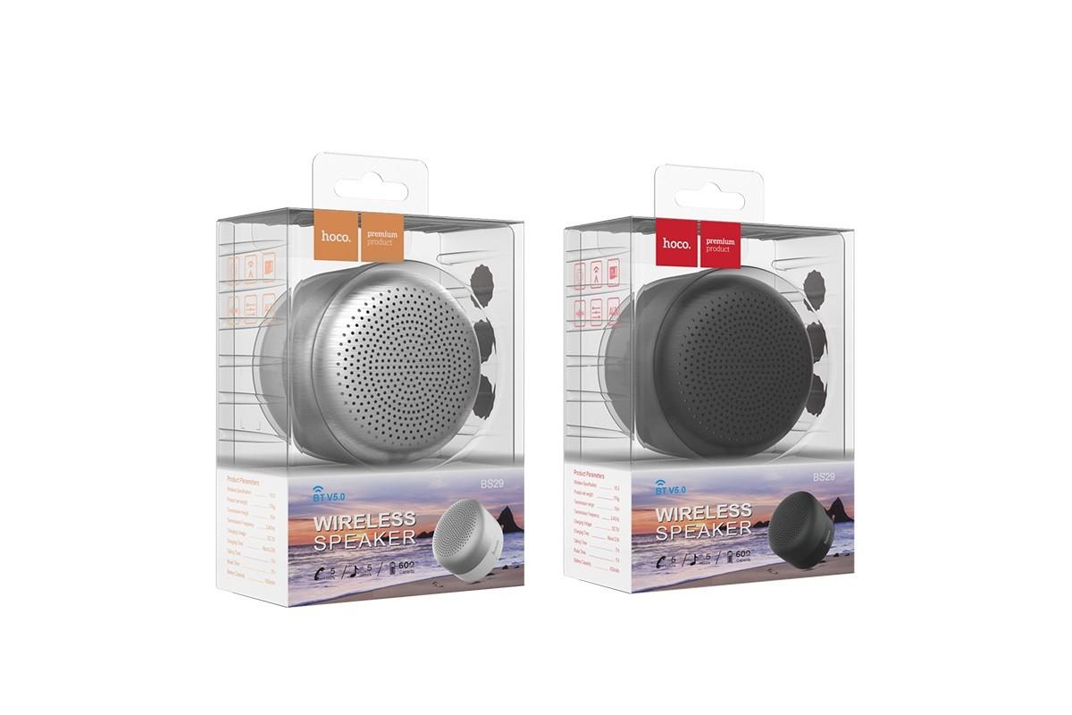 Портативная беспроводная акустика HOCO BS29 Gamble journey цвет черный