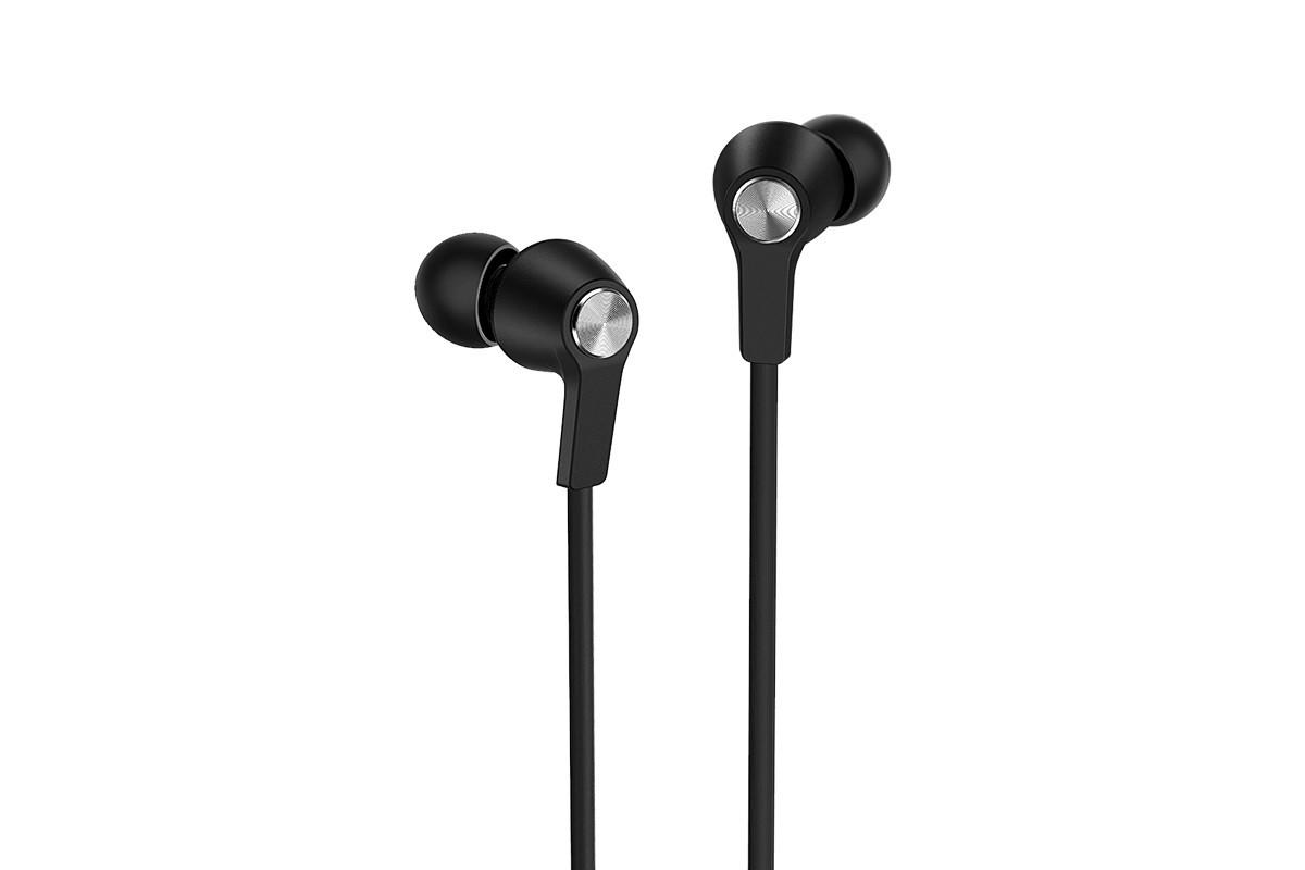 Гарнитура BOROFONE BM37 Noble sound wire control earphones 3.5мм цвет черная