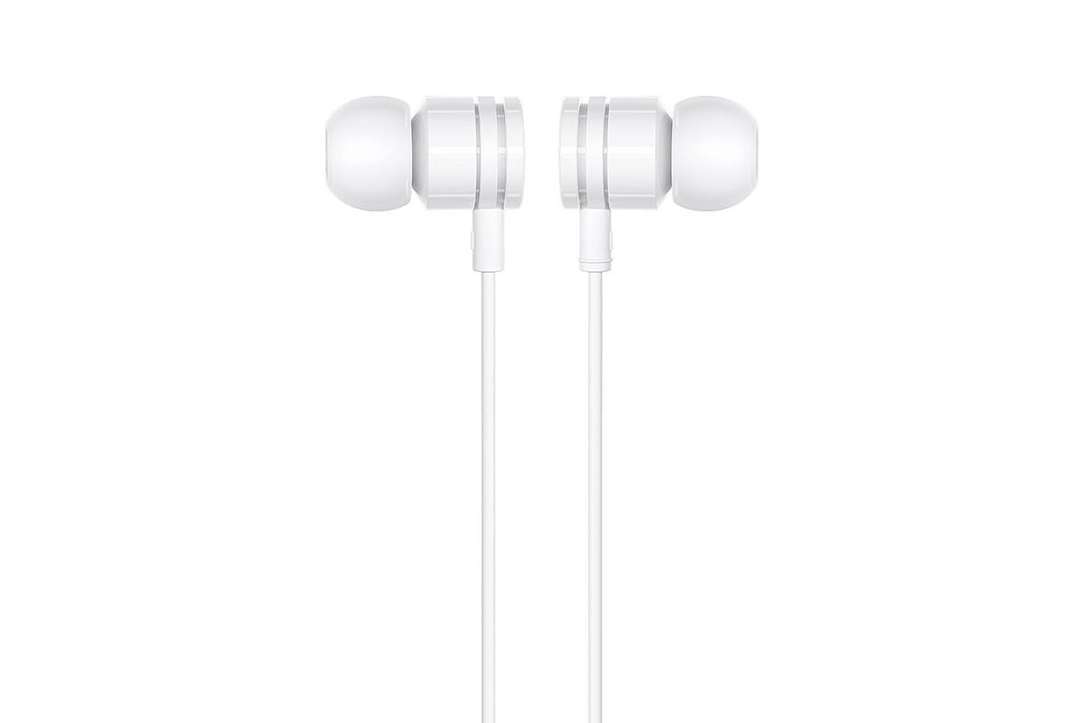 Гарнитура BOROFONE BM31 Mysterious universal earphones 3.5мм цвет белая