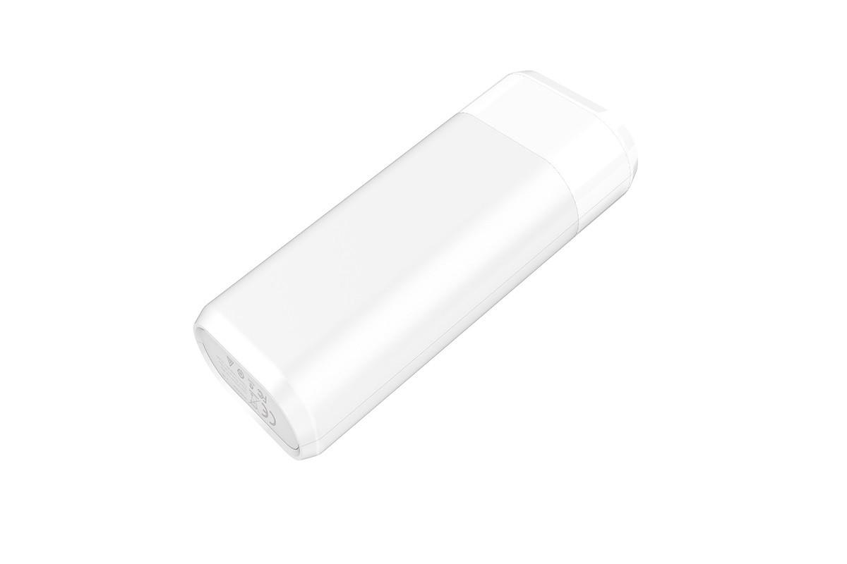 Универсальный дополнительный аккумулятор HOCO B35 A 5200 mAh Entourage mobile power bank белый