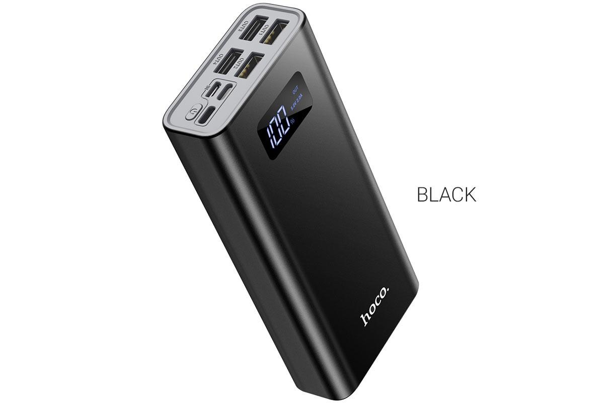 Универсальный дополнительный аккумулятор HOCO J46A Star ocean mobile power bank(20000mAh) черный