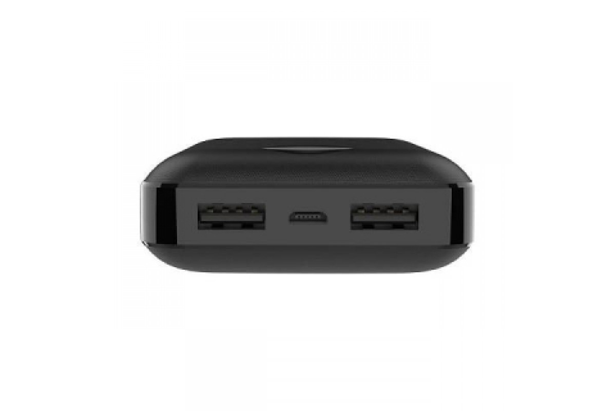 Универсальный дополнительный аккумулятор HOCO  BDY02 Digital display power bank (10000mAh) черный