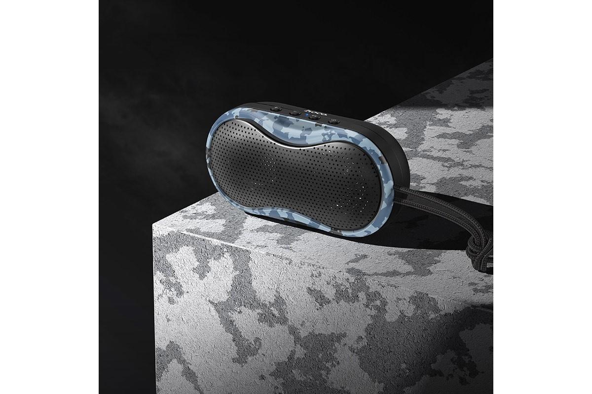 Портативная беспроводная акустика HOCO BS36 Hero sports sound sports wireless speaker цвет камуфляж