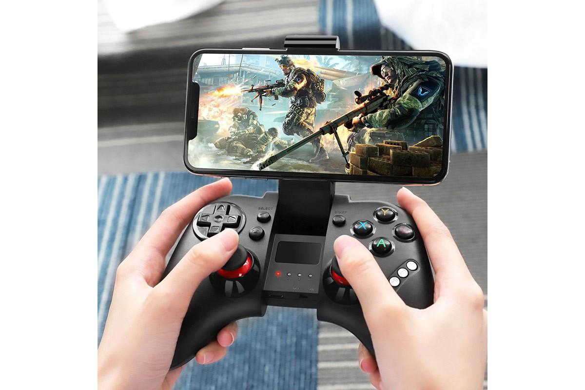 """Игровая телефонная подставка джойстик HOCO GM3 Continuonus play gamepad """"wireless controller"""""""
