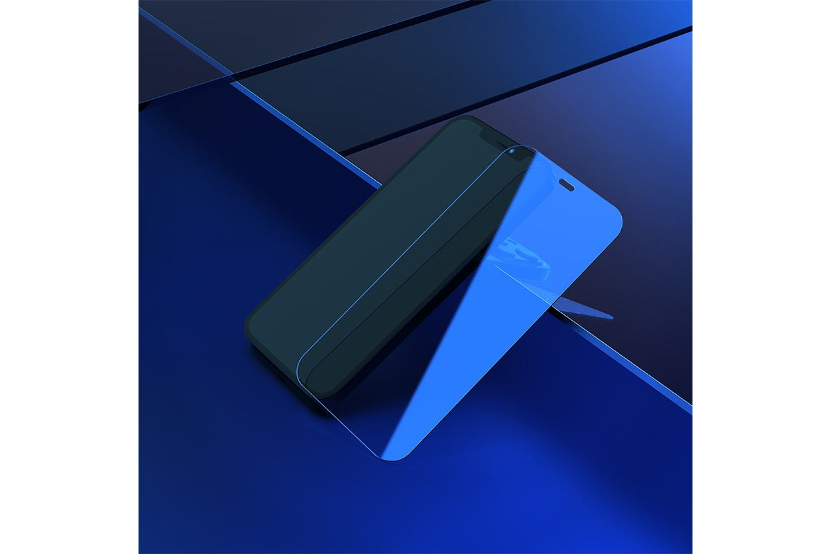 Защитное стекло дисплея iPhone 12 Pro Max (6.7)  HOCO G6 Full screen HD tempered glass прозрачное