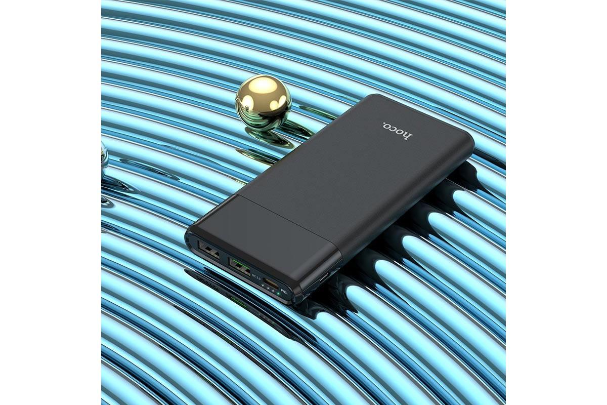 Универсальный дополнительный аккумулятор HOCO  J58 Cosmo PD+QC3.0 mobile power bank(10000mAh) черный