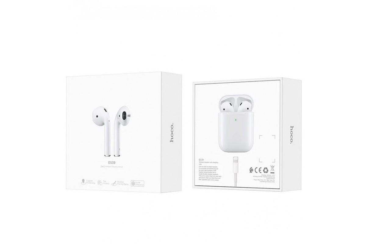 Bluetooth-наушники ES39  Original series TWS wireless headset  HOCO белые