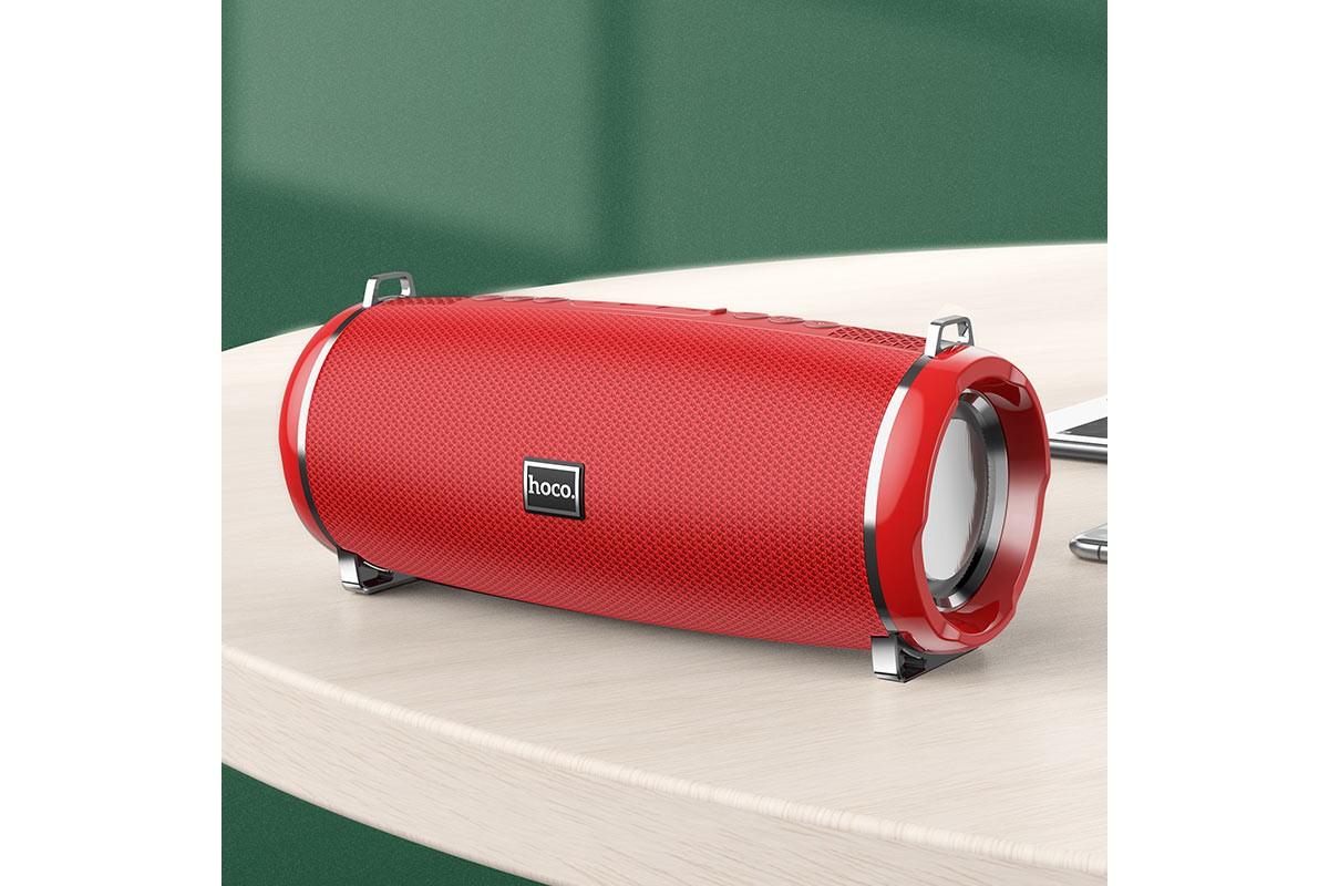 Портативная беспроводная акустика HOCO HC2 Xpress sports BT цвет красный