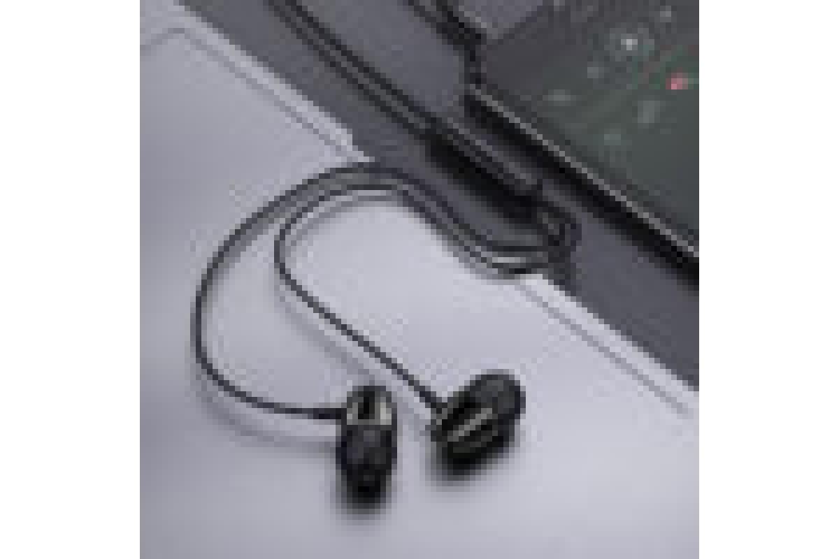 Наушники BOROFONE BM57 Platinum Universal earphones  with microphone3.5мм цвет черная