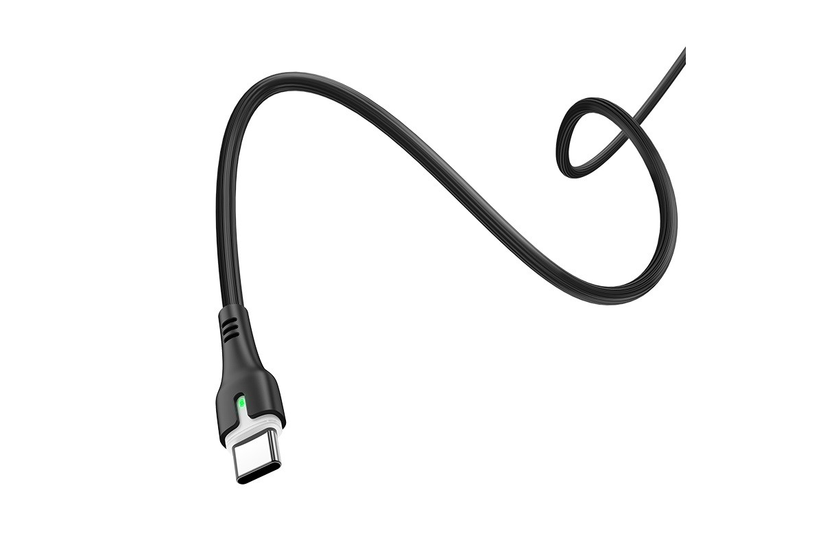 Кабель USB HOCO X45 Type-C cable (черный) 1,8 метр (Type-C-Type-C)