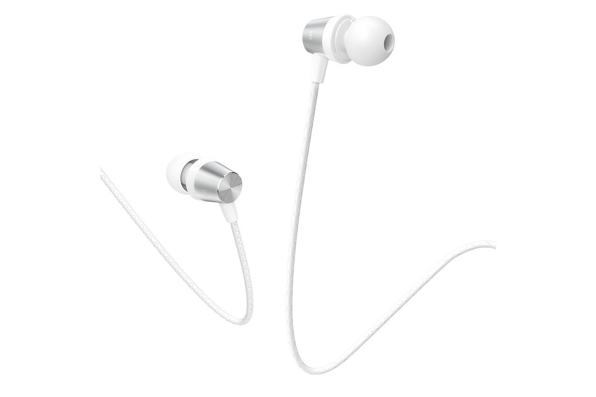 Наушники HOCO M79 Cresta universal earphones белая