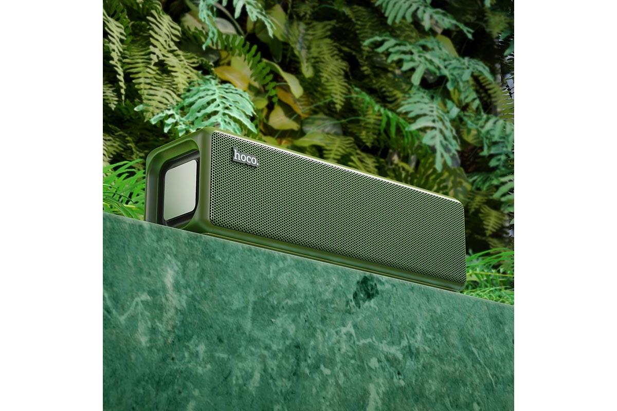 Портативная беспроводная акустика HOCO HC3 Bounce sports BT цвет зеленый