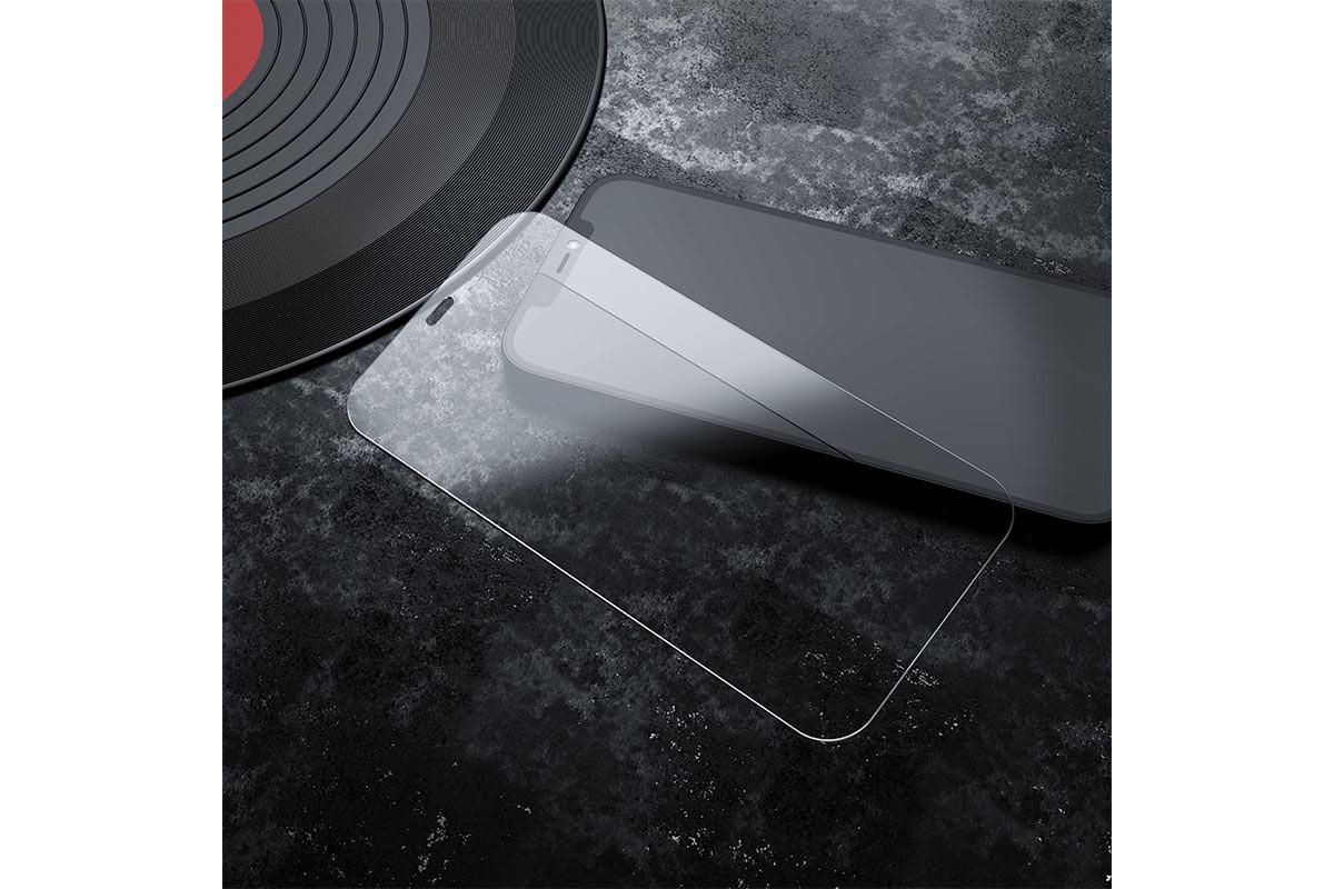 Защитное стекло дисплея iPhone 12/12 Pro (6.1)  HOCO G6 Full screen HD tempered glass прозрачное