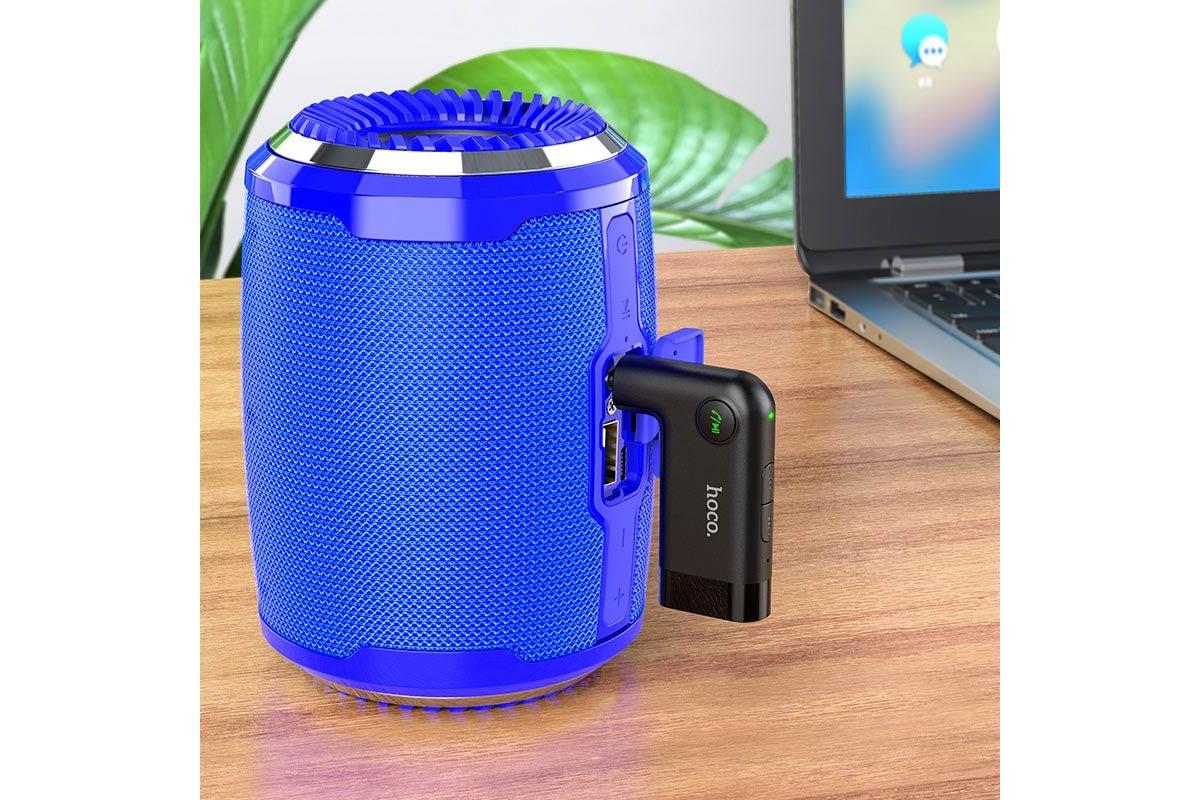 Bluetooth Car Receiver AUX 3.5 mm E53 HOCO Dawn sound in-car AUX wireless receiver для автомагнитолы c AUX 3.5 mm входом)