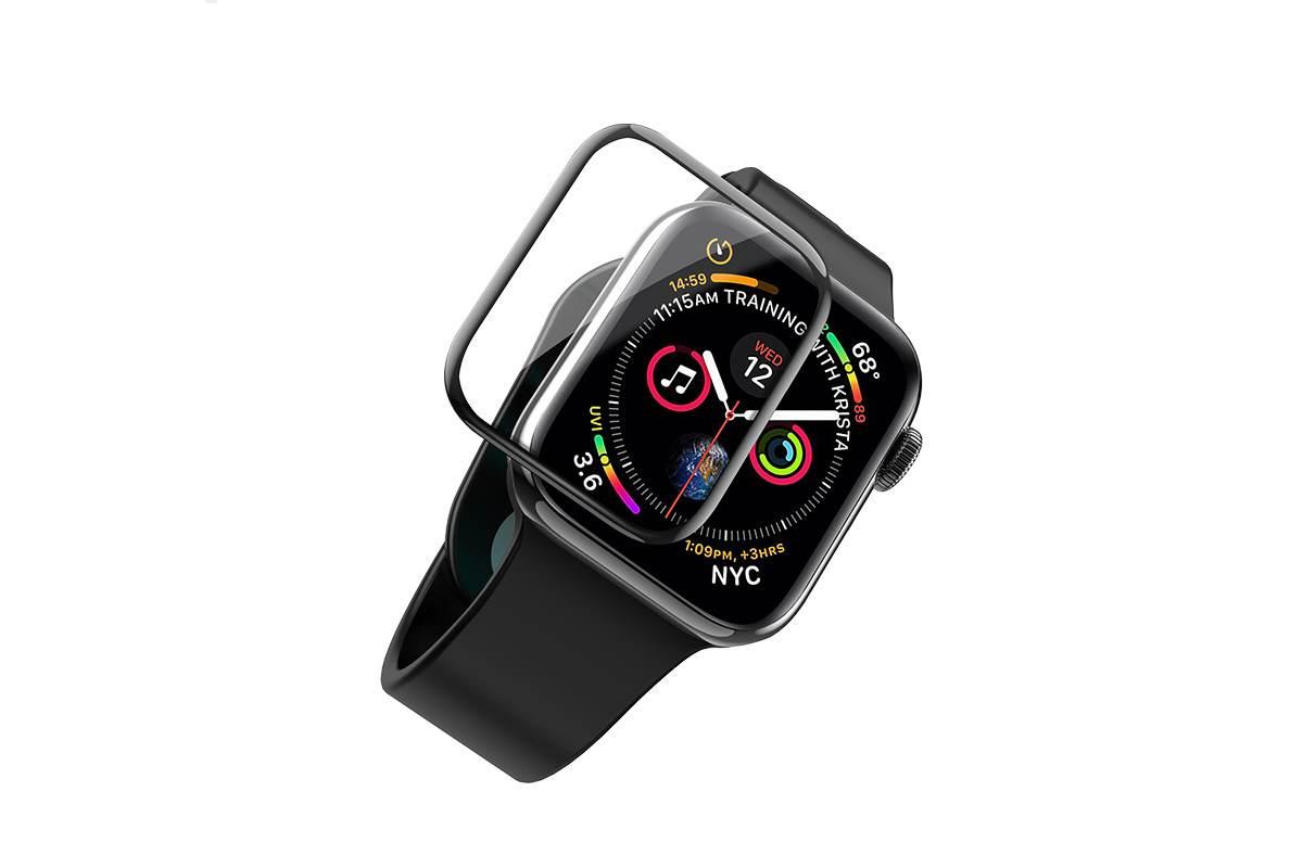 Защитное стекло дисплея Apple Watch 44 mm curved high-definition silk screen HOCO