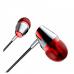 Гарнитура BOROFONE BM-13 Soul Melody 3.5мм цвет красно-серебристая