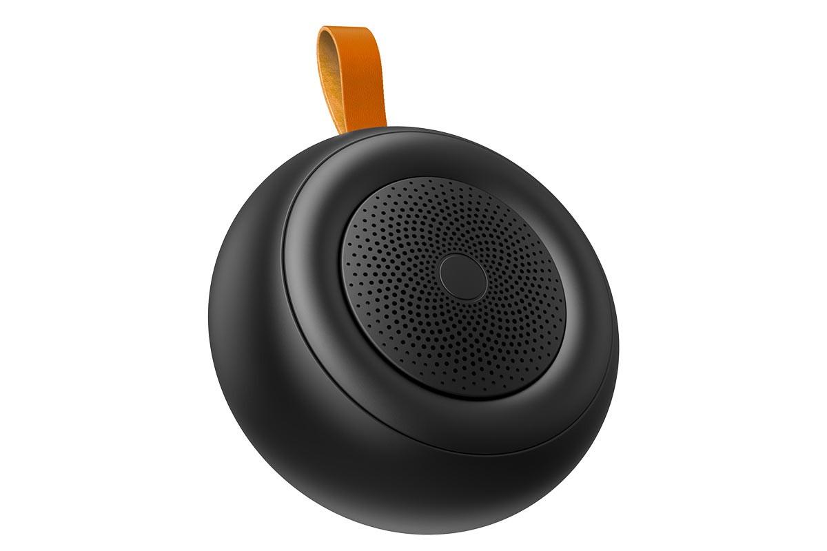 Портативная беспроводная акустика BOROFONE BR10 Joyful shinet sport  цвет черный