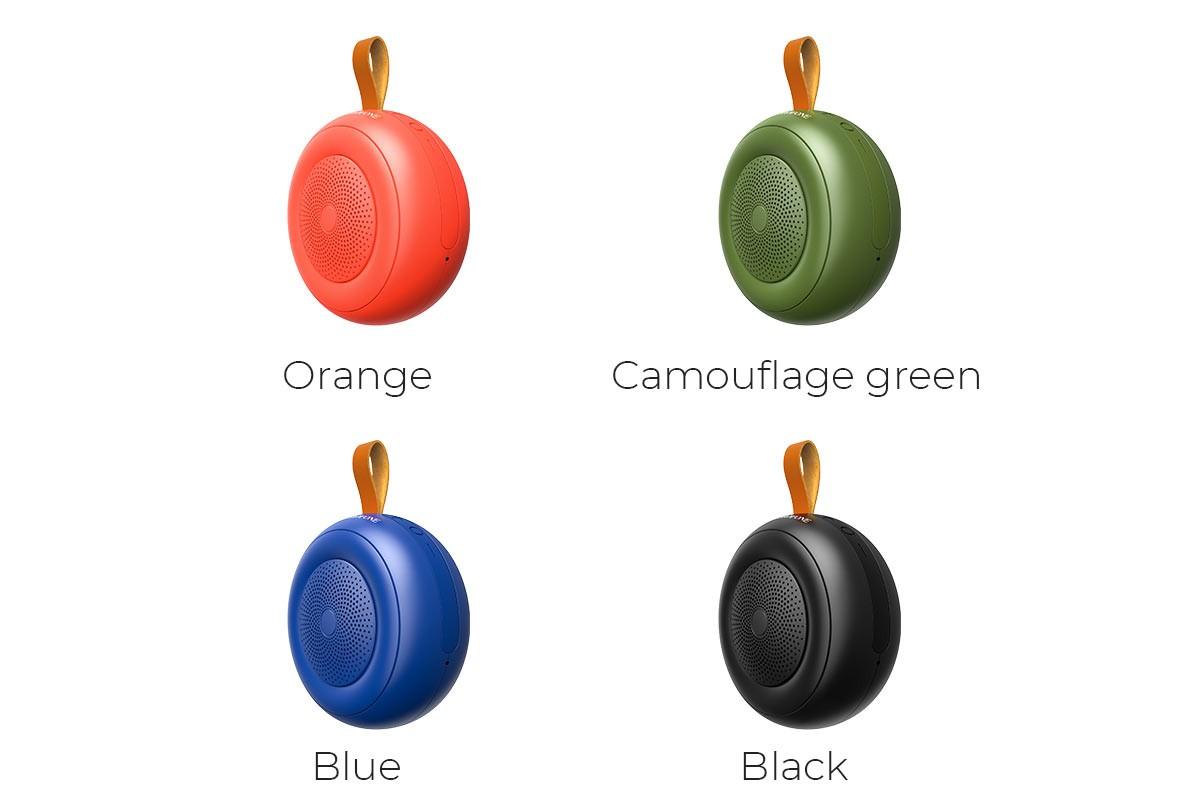 Портативная беспроводная акустика BOROFONE BR10 Joyful shinet sport  цвет оранжевый