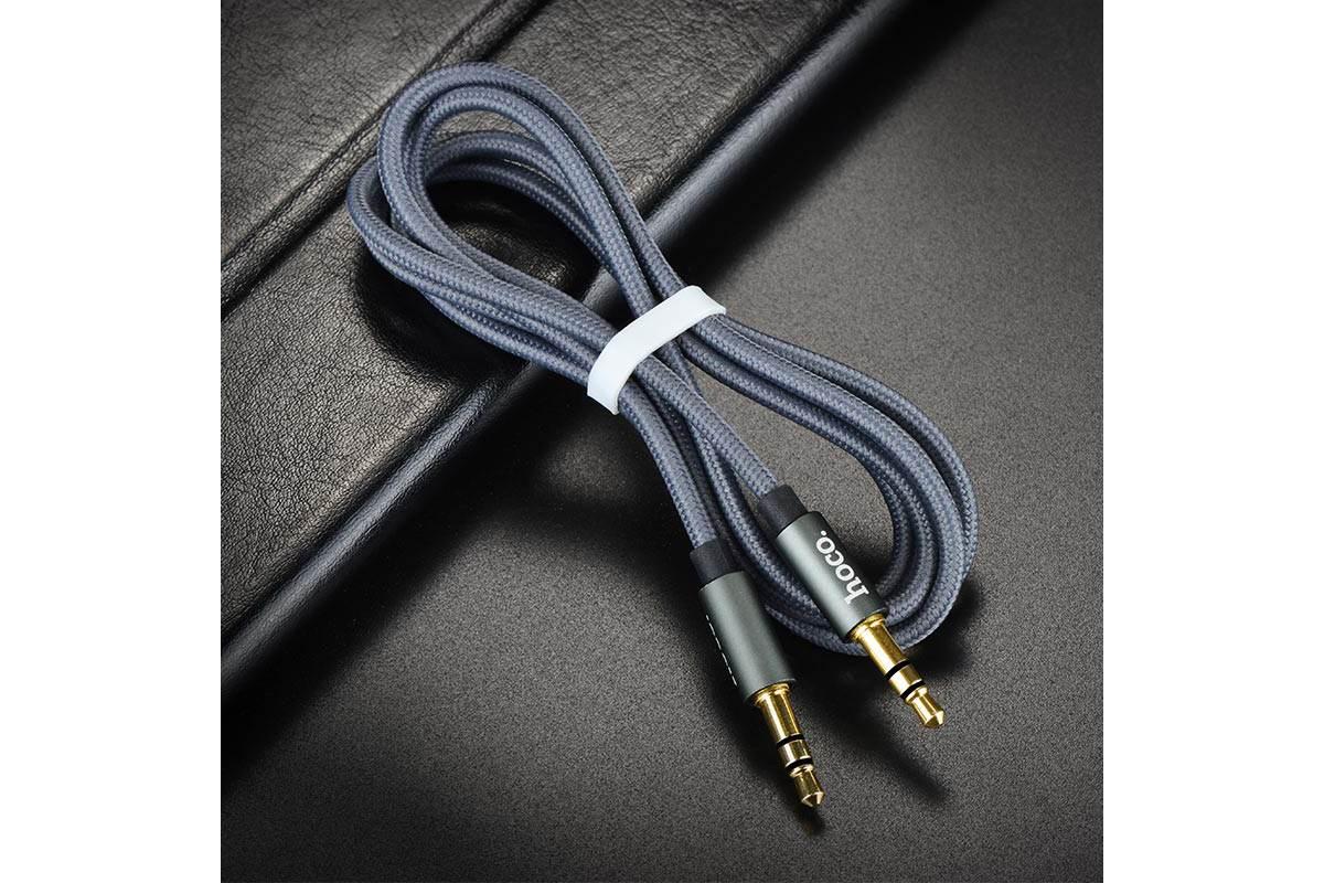 Кабель удлинитель HOCO UPA03 AUX Noble sound series Audio cable 3.5 1 метр