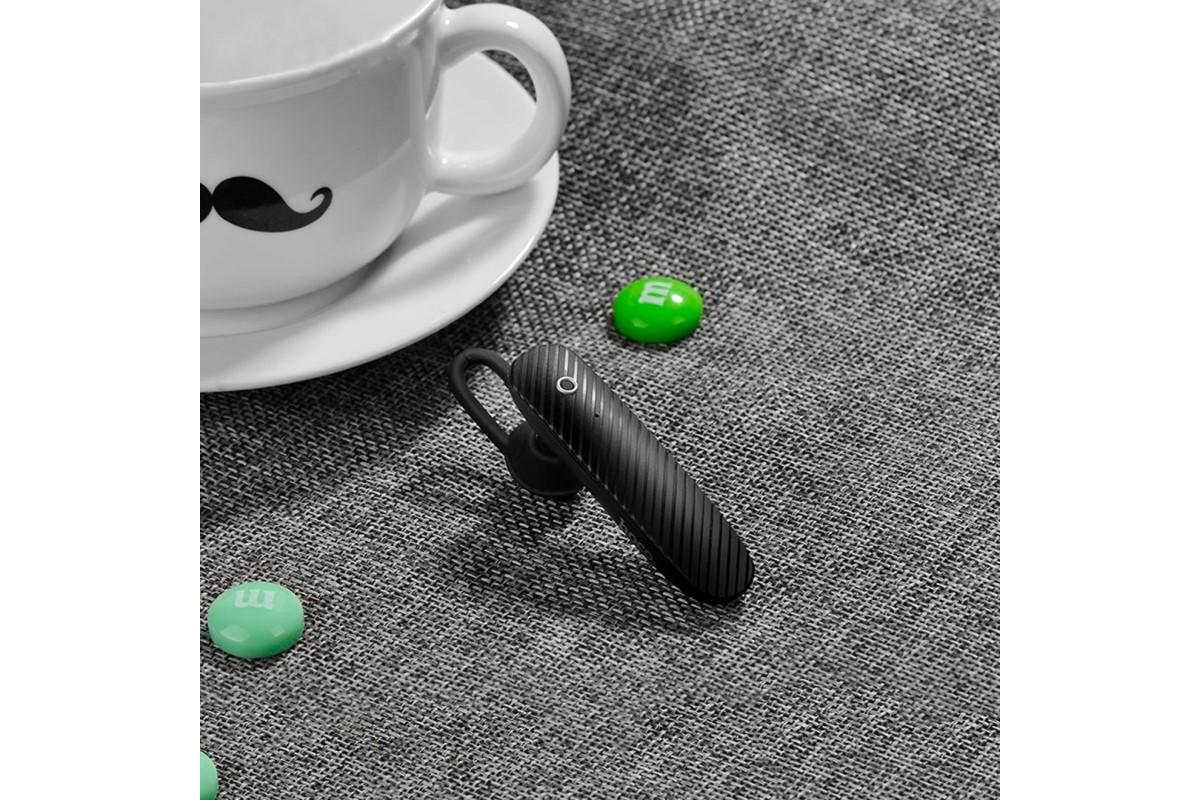 Bluetooth-гарнитура E18 Silo HOCO черная