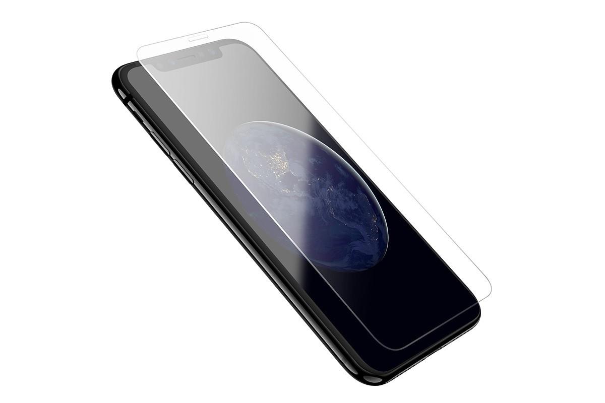 Защитное стекло дисплея iPhone X  HOCO Large arc full screen HD tempered glass  прозрачное