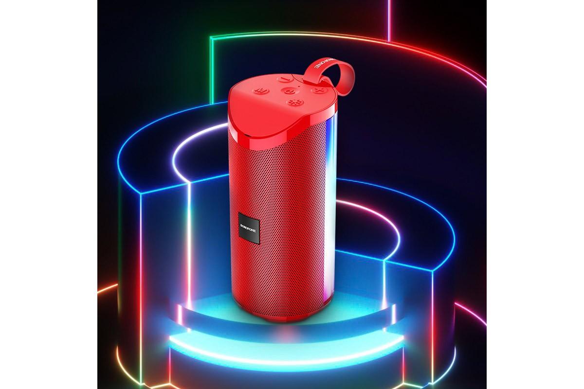 Портативная беспроводная акустика BOROFONE BR5 Adventure sports wireless speaker  цвет красный