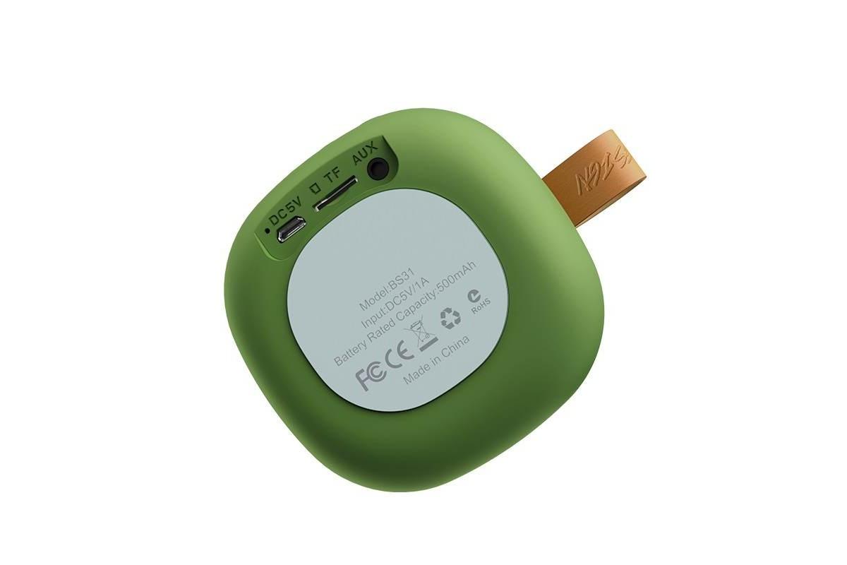 Портативная беспроводная акустика HOCO BS31 Bright sound sports wireless speaker цвет зеленый