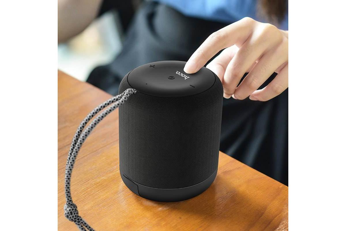 Портативная беспроводная акустика HOCO BS30 New moon цвет черный