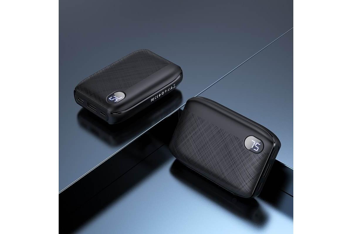 Универсальный дополнительный аккумулятор HOCO  J53 Exceptional mobile power bank (10000mAh) черный