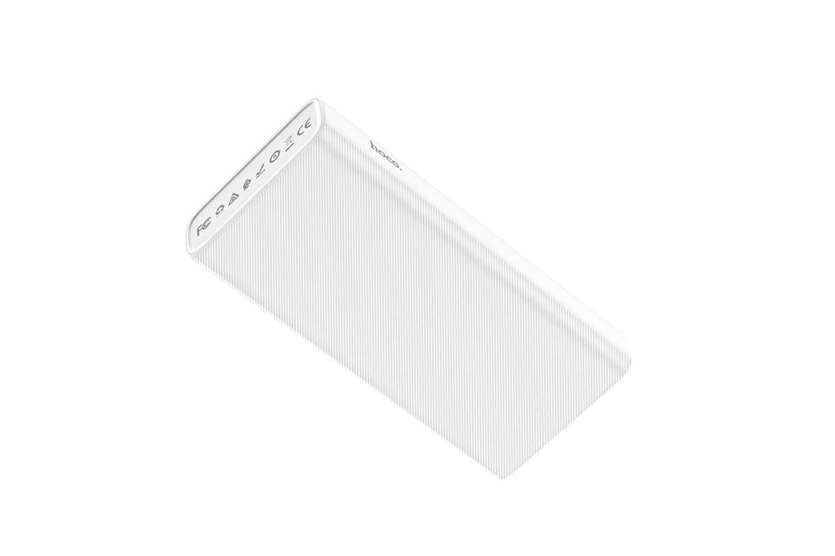 Универсальный дополнительный аккумулятор HOCO  J55A Neoteric mobile power bank (10000mAh) белый