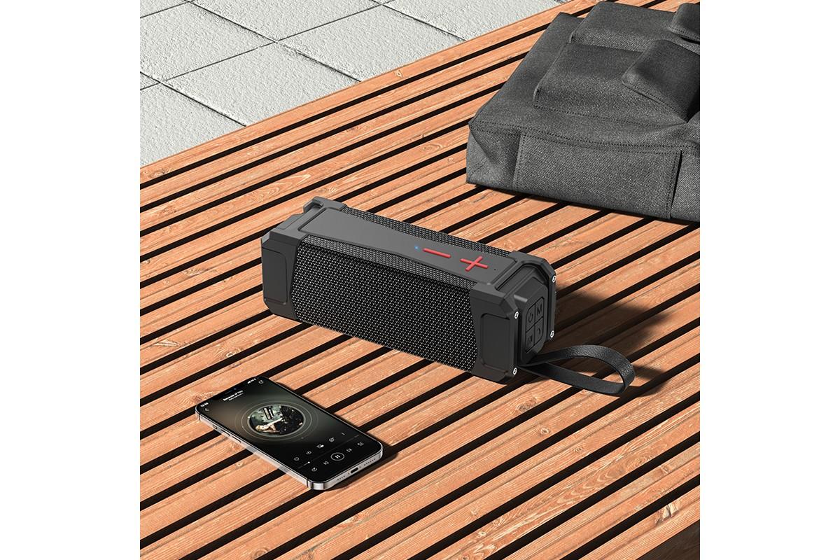 Портативная беспроводная акустика HOCO HC6 Magic sports BT speaker цвет черный